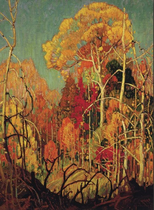 franklin-carmichal-autumn-in-orillia-1924