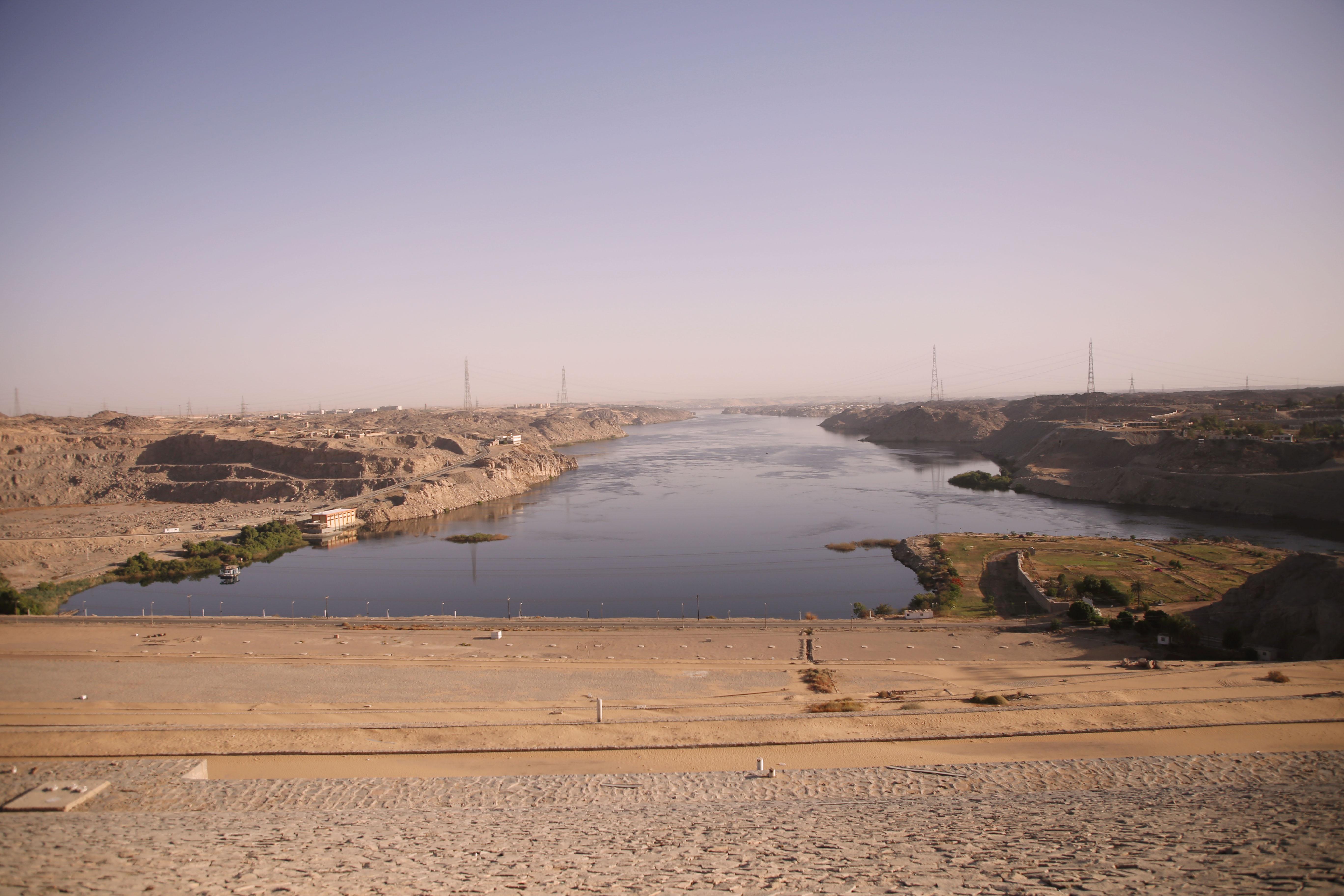 mia und ich blog Staudamm Assuan Ägypten Egypt