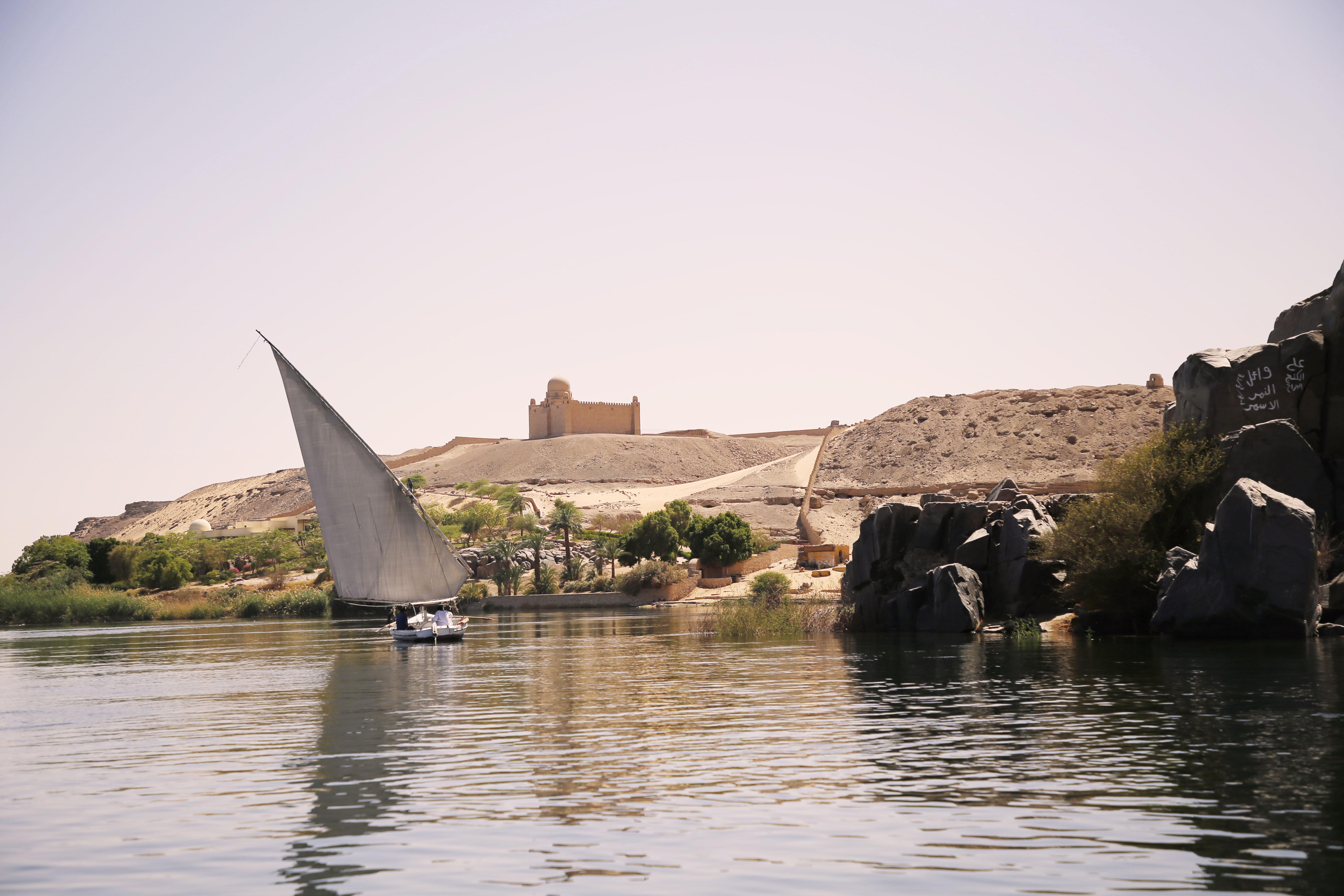 mia und ich blog Nil Nubier Dorf Feluke Assuan Ägypten Egypt