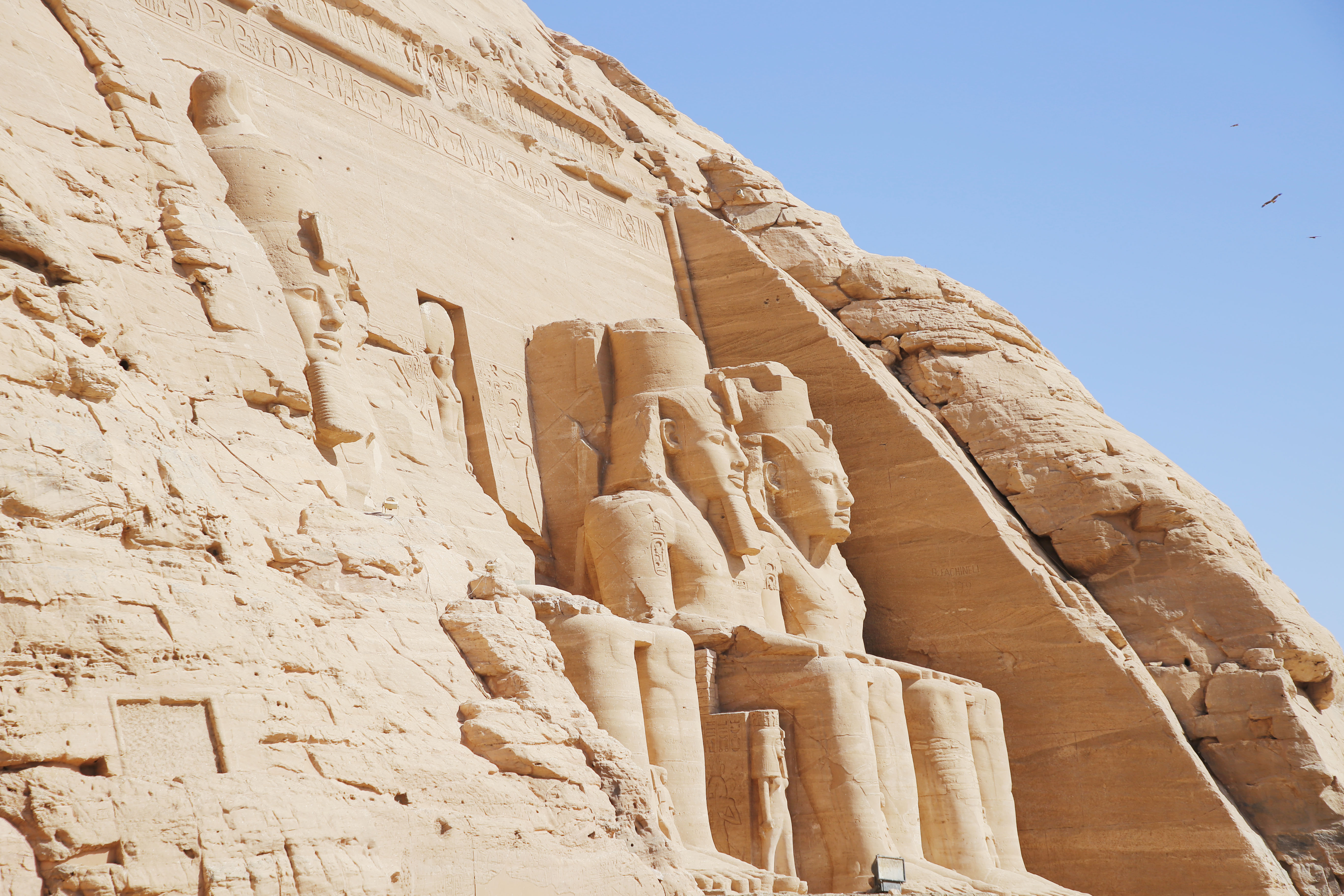 mia und ich blog Abu Simbel Statuen Ramses II Tempel  Ägypten Egypt