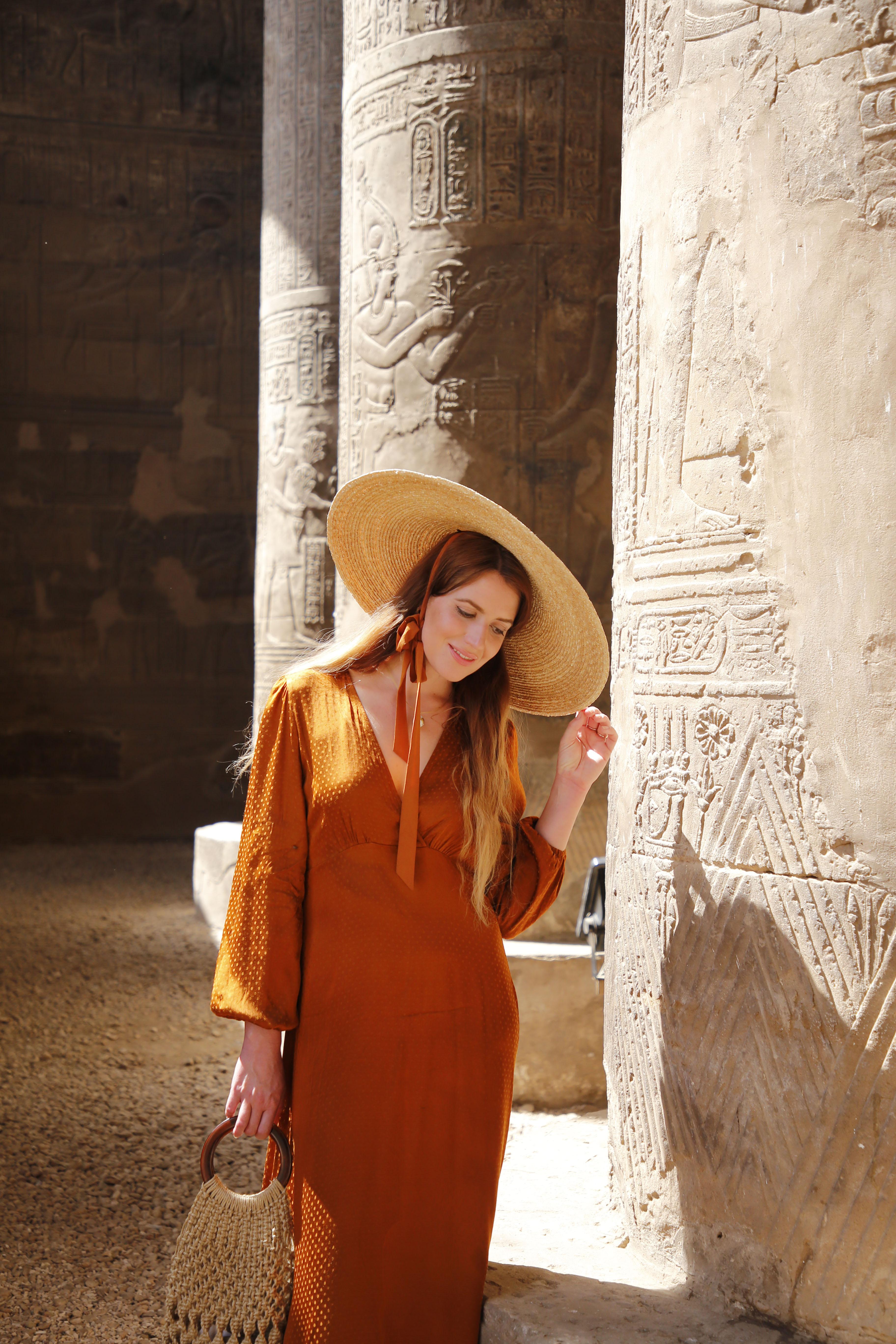 mia und ich blog Esna Chnum Tempel  Ägypten Egypt Säulen Relief