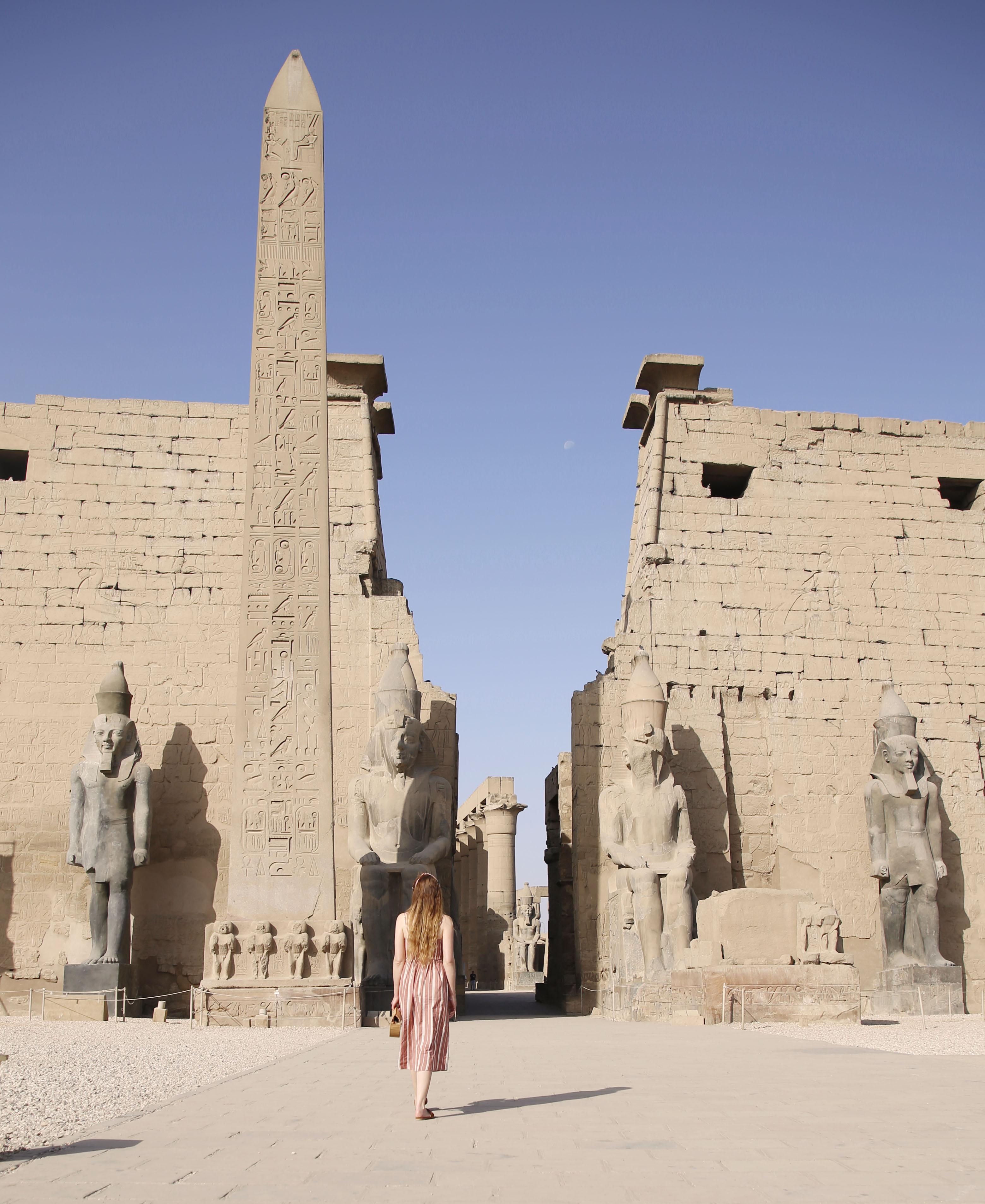 mia und ich blog Luxor Obelisk Tempel  Ägypten Egypt Pylon