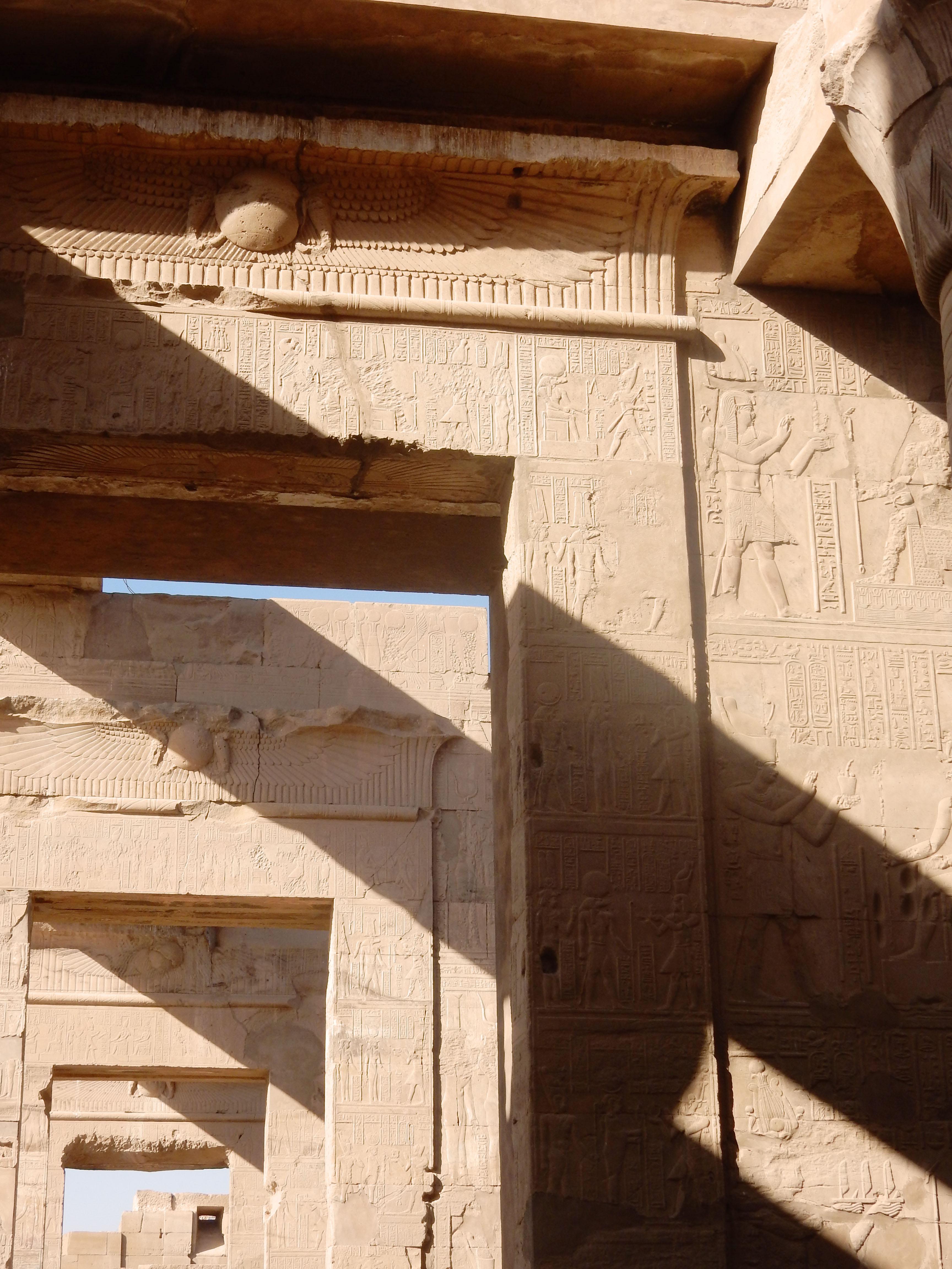 mia und ich blog Kom Ombo Tempel Relief  Ägypten Egypt